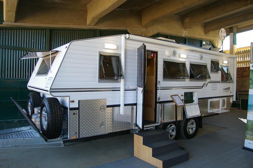 Elegant  2005 Bushtracker Offroad Caravan For Sale In Surfers Paradise QLD