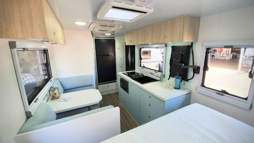 Bushtracker Caravan Interior