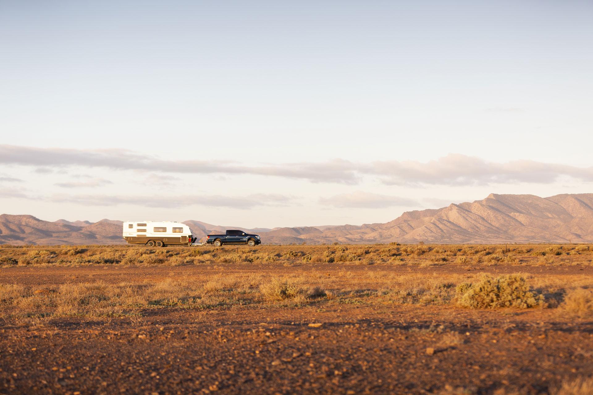 Bustracker Caravan Outback