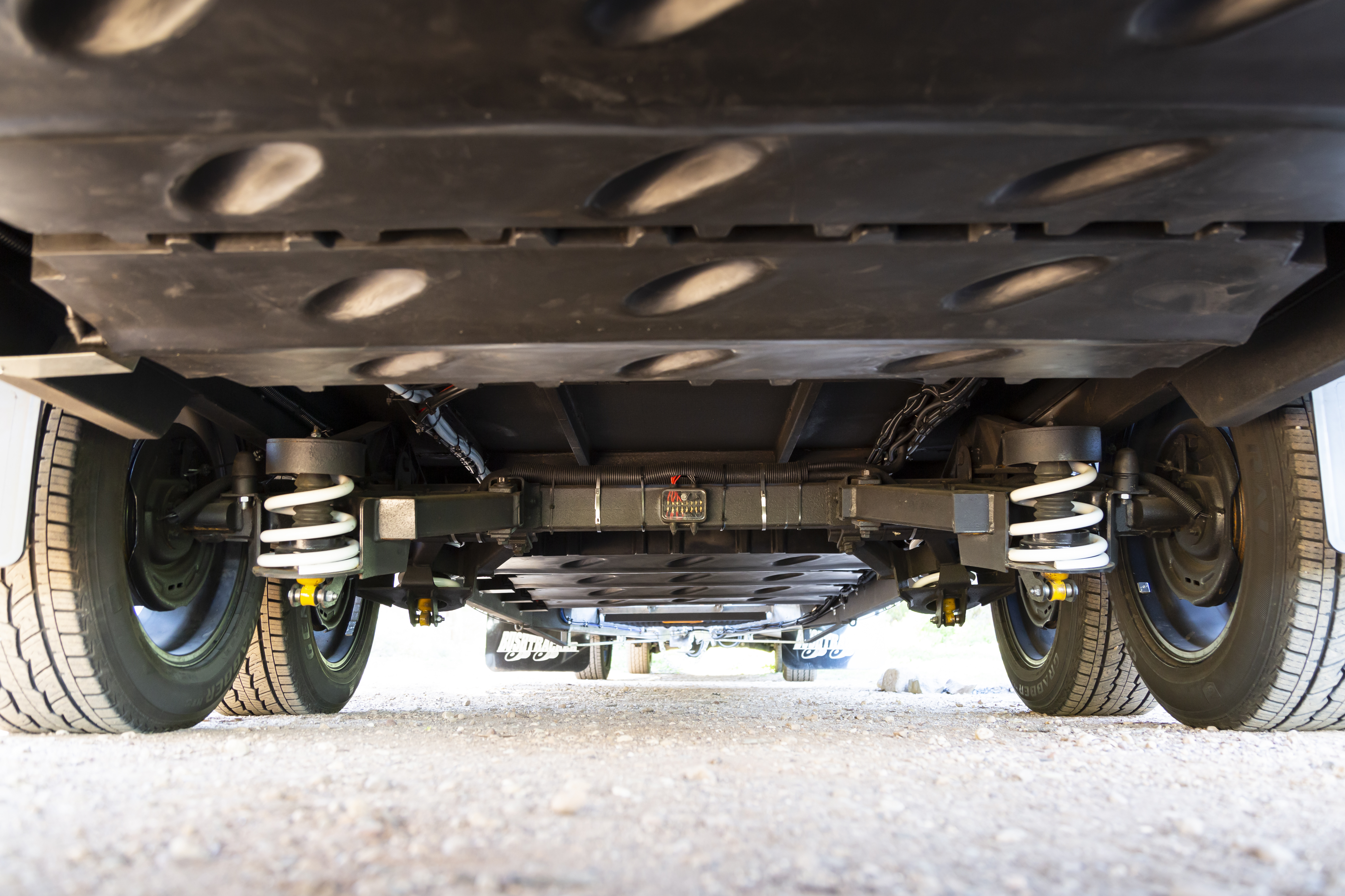 Bushtracker Caravan Suspension